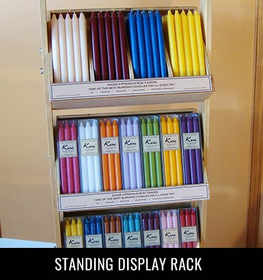 Standing Display Rack