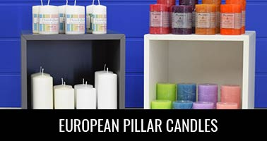 European Pillar Candles